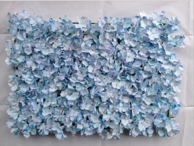 Hydrangea Flower Wall Wedding Background Wedding Artificial Silk Flowers Lawn Pillar Road Lead Flowers Ball Home Market Decoration