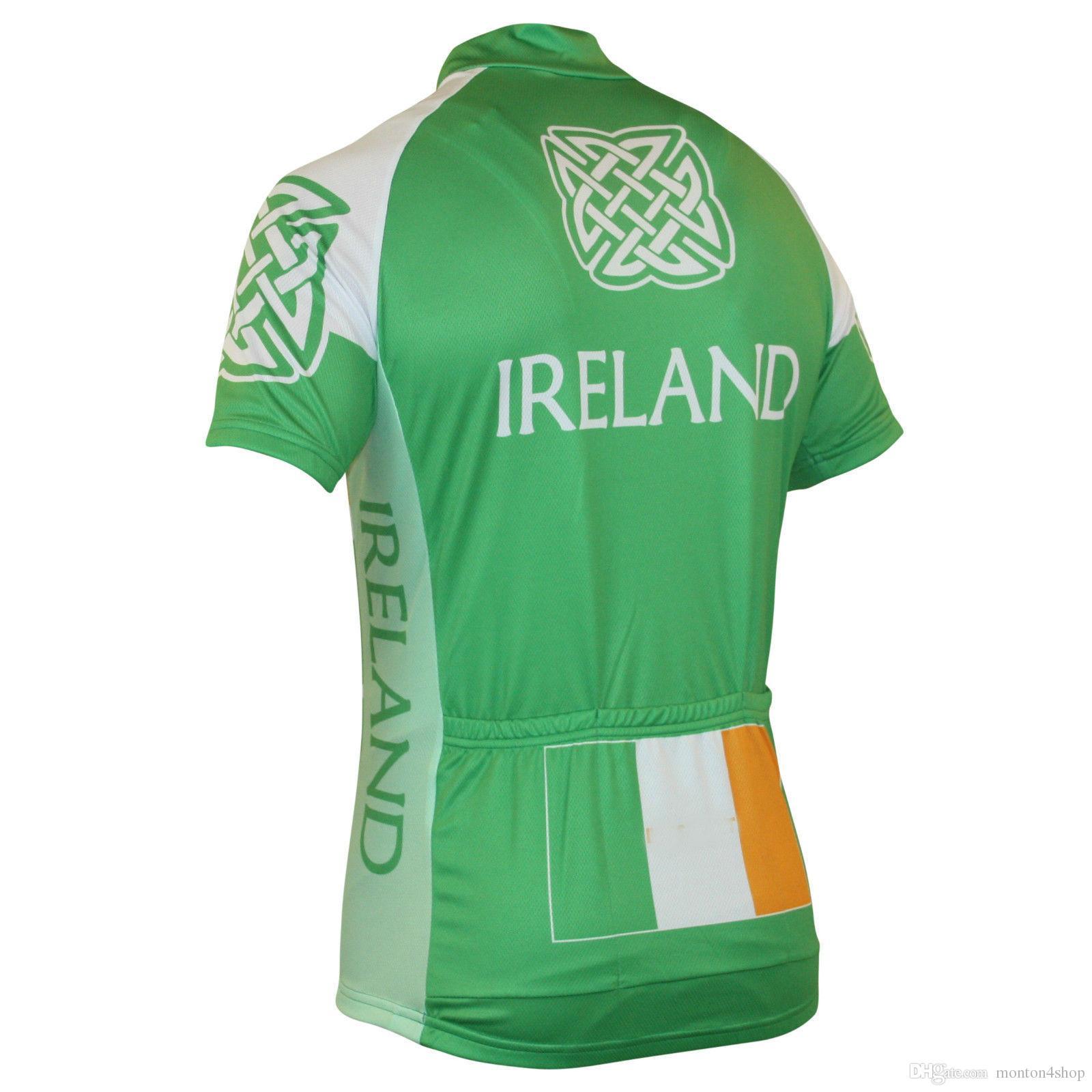 2019 National Écosse, Pays de Galles, Irlande Angleterre maillot respirant maillot cycliste Manches courtes été chiffon à séchage rapide VTT Ropa Ciclismo P7