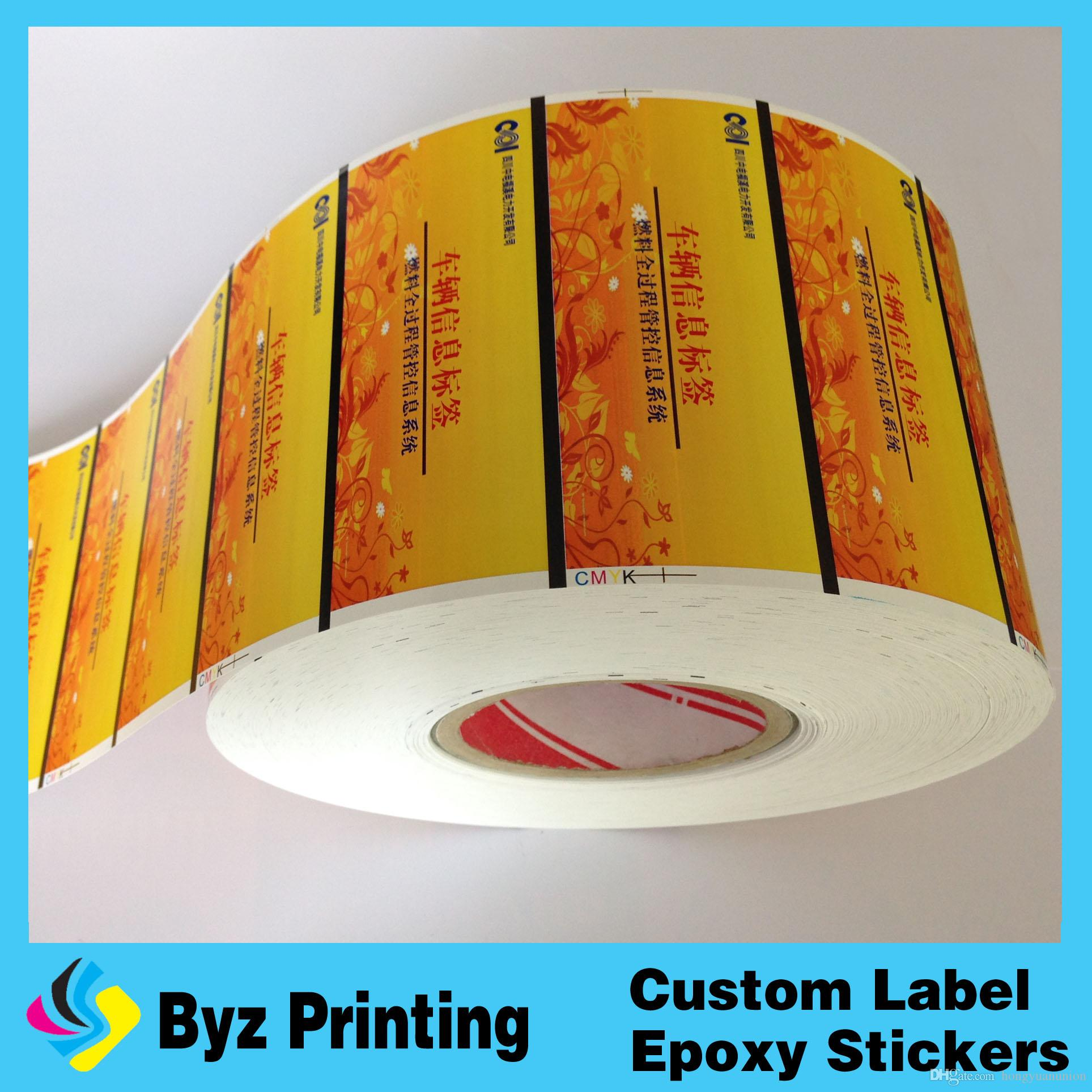 Full Color Glossy Custom Transparent Label Sticker, Vinyl Hologram Sticker  Printing Label Sticker Sticker Printing Vinyl Hologram Sticker Printing  Online ...