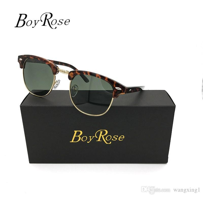 1eb06250aa Luxury BoyRose 51mm Green Mirror Persol Sun Glasses Gradient Rays ...