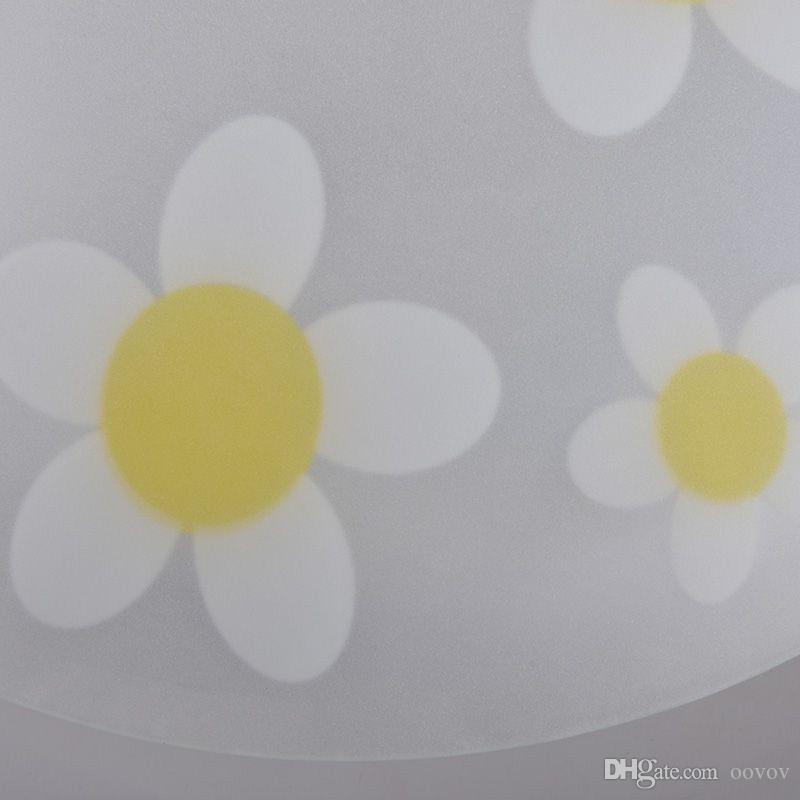 Basit Cam Çiçekler Çocuk Odası Tavan Armatürleri Yaratıcı Çocuk Yatak Odası Tavan Işık Bebek Odası Tavan Lambaları