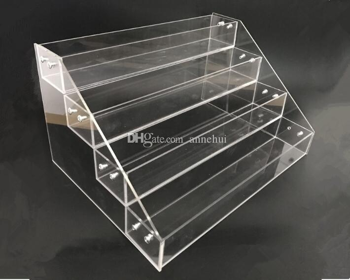 Multifunction Makeup Cosmetic display stand Clear Acrylic Organizer Mac Lipstick Jewelry cigarette Display Holder Nail Polish Rack