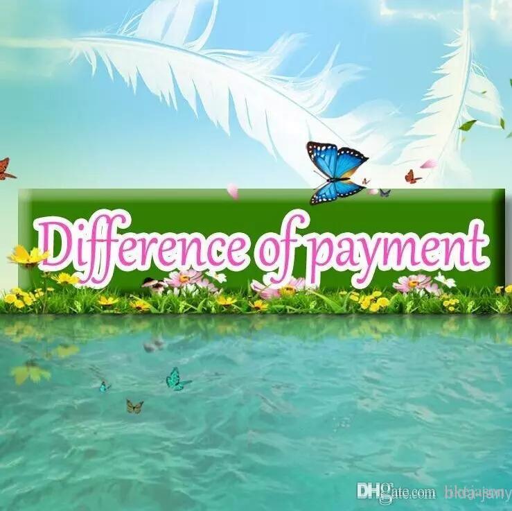 Zahlung für verschiedene