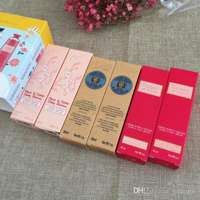 LOVELIER HAND CREAM Kit 6 x 30 ml Shea Butter Pivoine Flora Hand Cream Roses et Reines