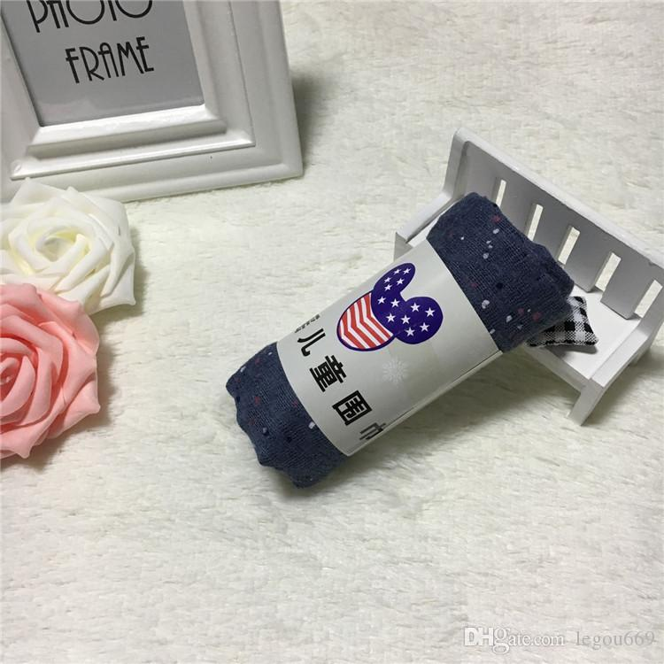 2017 versione coreana del nuovo autunno e inverno sciarpe bambini stampate stelle e ragazze sciarpa baby baby sciarpa di cotone selvatico