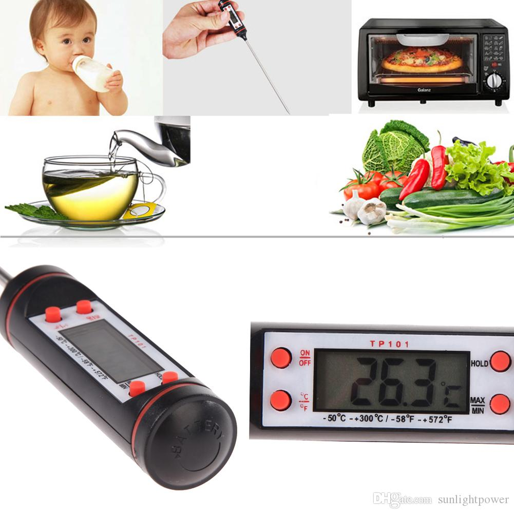Mini Meat Oven Thermometer Digital Food Thermometer Probe BBQ Grill Barbecue Mangal Cooking Electronic Thermometer Sensor Prober