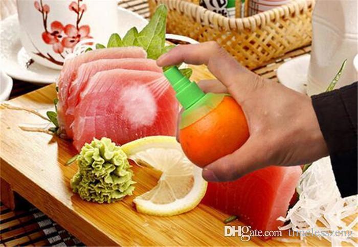 Лимона разбрызгиватель оранжевый и фруктовый сок распылитель творческая кухня инструменты ручные опрыскиватели набор 2 шт/комплект С блюдо