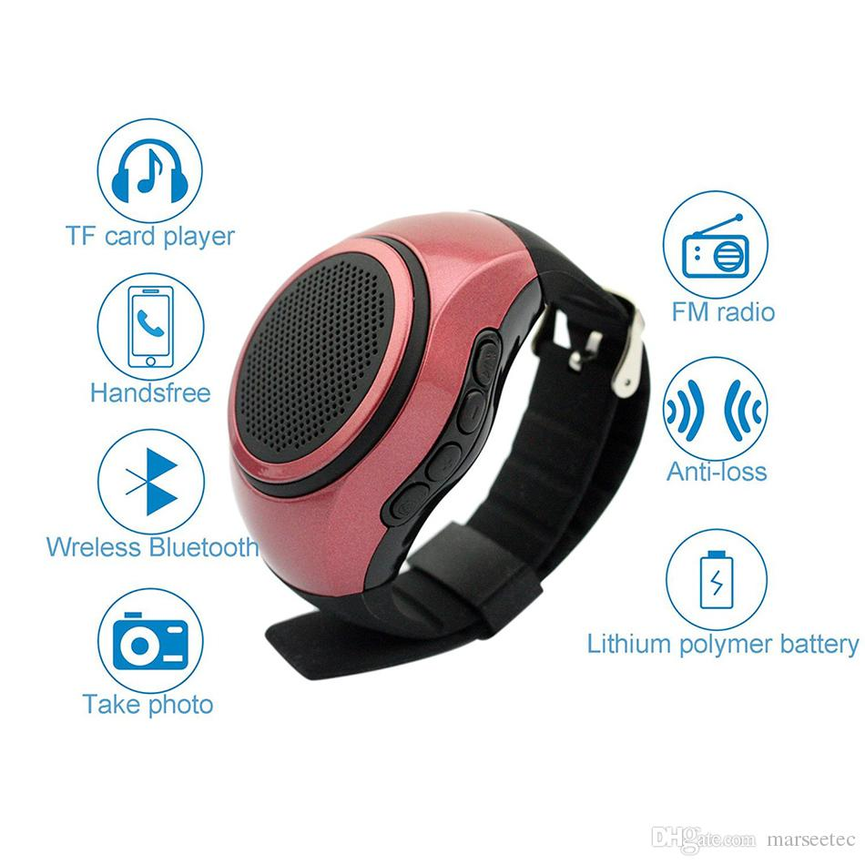 Cheap Bluetooth Speaker Sports Music Mini Bluetooth Watch Hand Portable Multifunction Speaker For The Computer Xiaomi Huami Iphone Cell Phone Accessories ...
