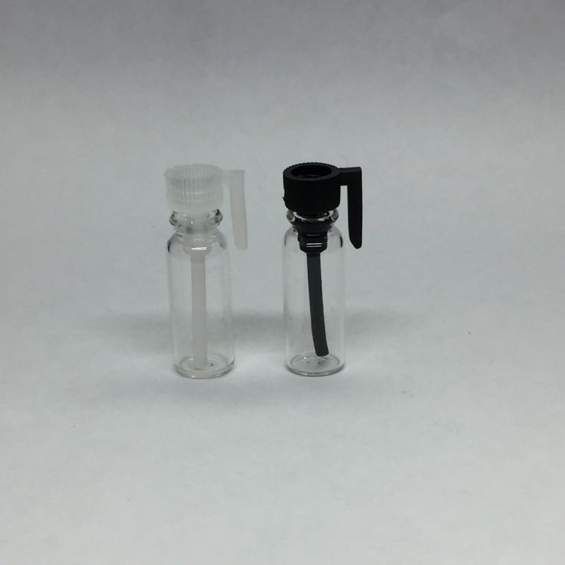 0.5 ML 1 ML 2 ML 3 ML Boş Cam Parfüm için Boş Şişe Köln Örnek Flakon Örnekleyicileri Temizle Tüp Uçucu Yağlar Aromaterapi