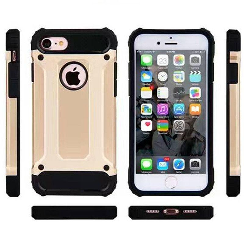 Cover Samsung Galaxy J2 Prime Hybrid Armor iPhone 7 7plus 6 6 plus Cover in plastica di lusso a doppio strato