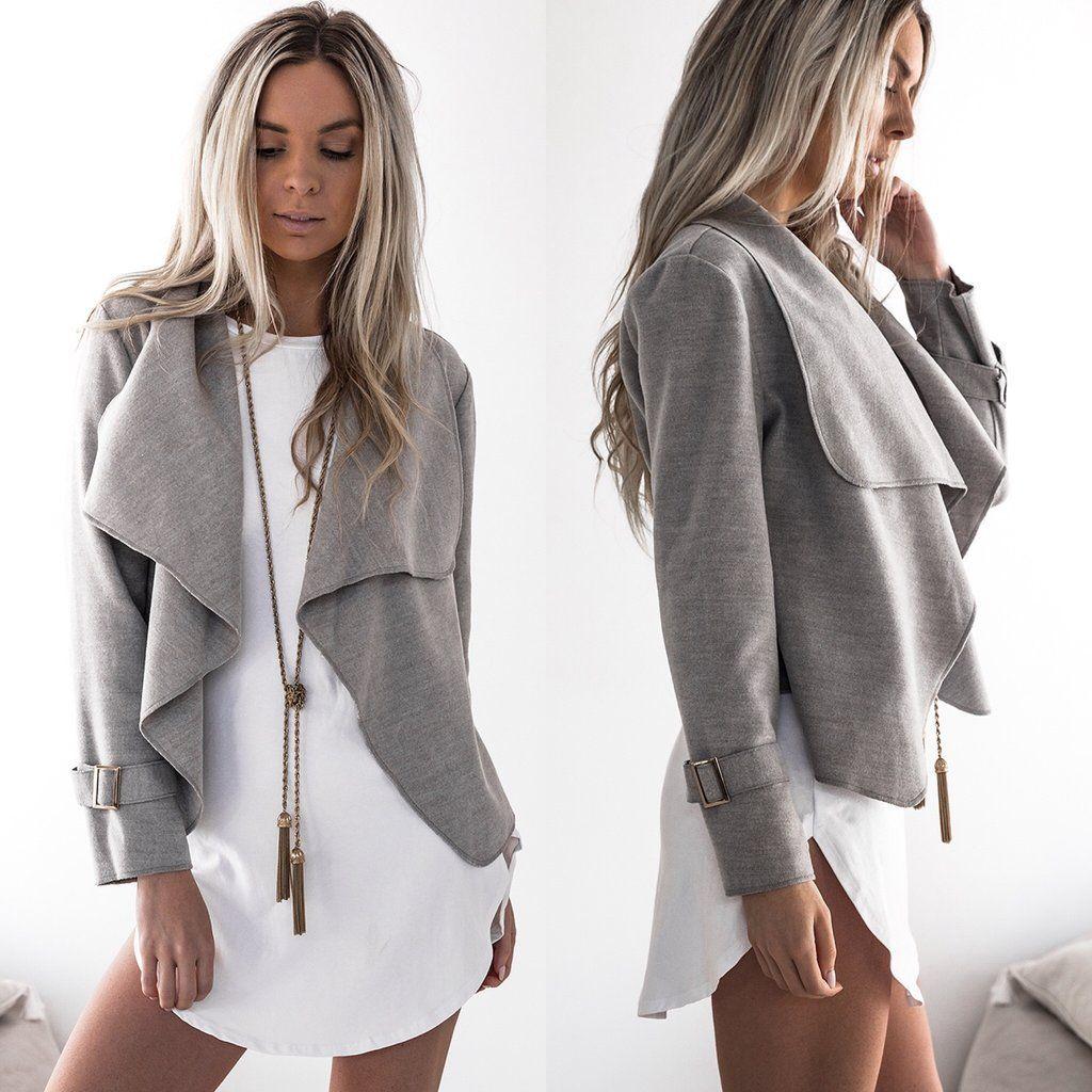 Women's Sweaters Elastic cardigan winter sweater women jumper Soft knitted cardigan female coat Gray casual short sweater pull outerwear