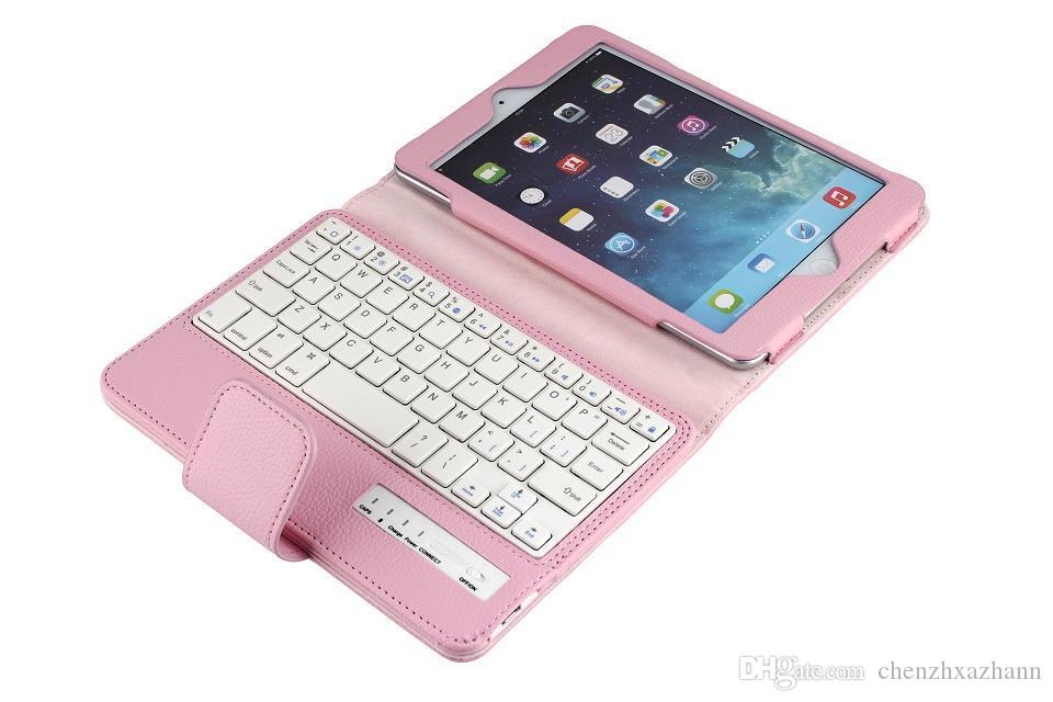 2017 new Stand Pu Leather cover case For ipad mini 123 Tablet protective sleeve shell keyboard