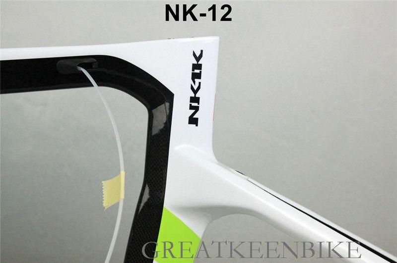 2017 The top quality nk1k carbon road bike frame t1100 carbon fiber BSA/bb30 CIPOLLINI road bike frameset