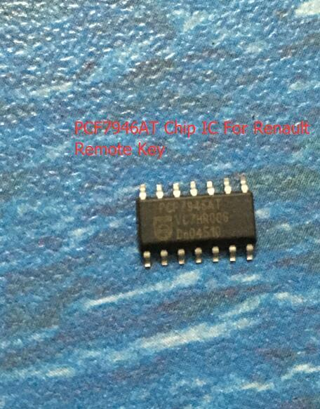 Auto Car Transponder Chip Pcf7946at Ic Chip For Renault Remote