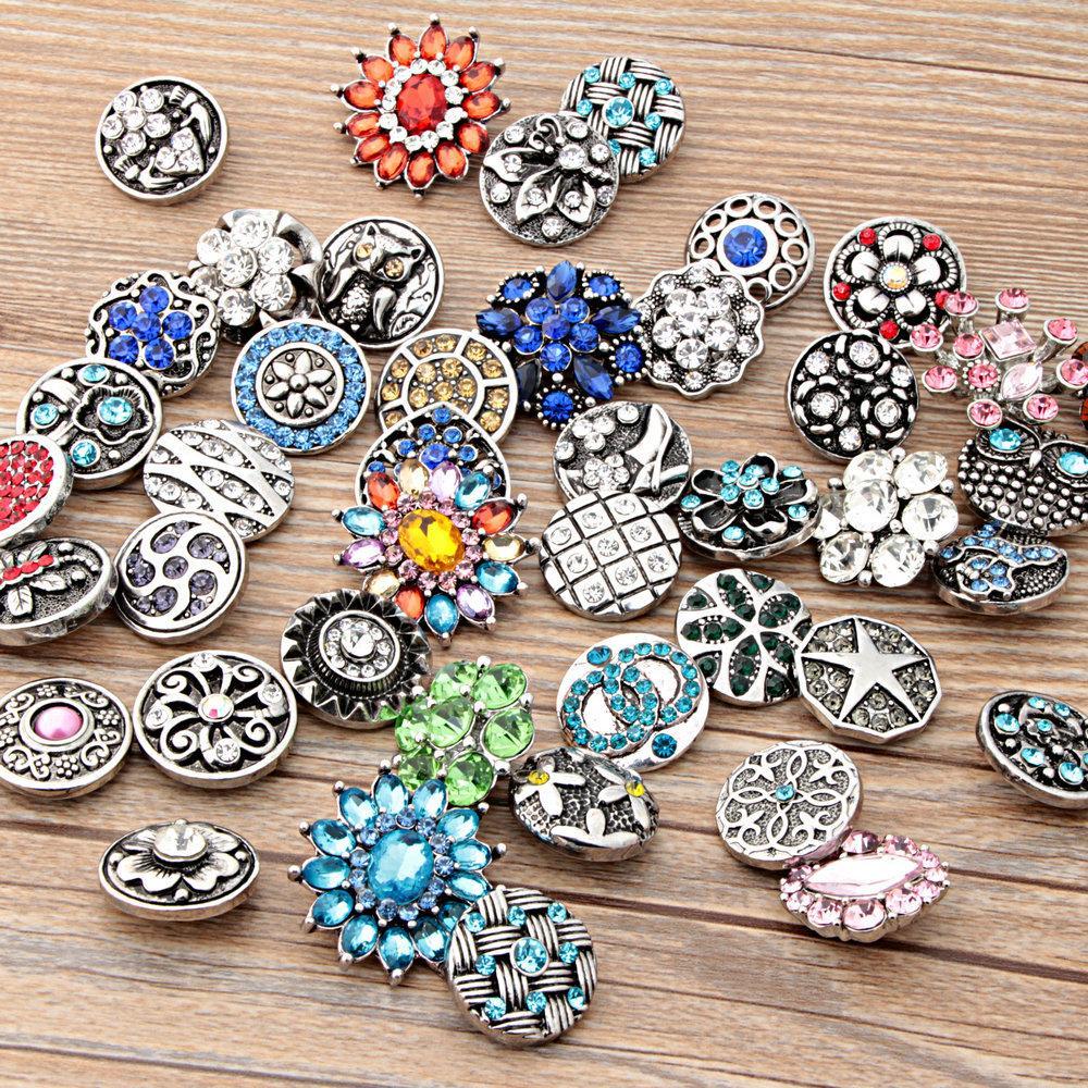 Acheter Rivca Bouton Bijoux Chaude En Gros Mix Styles18mm Interchangeables  Noosa Métal Snap Bouton Diy Collier Bracelet Accessoire De  0.91 Du  Rose lulu ... ca1e7cd8f92