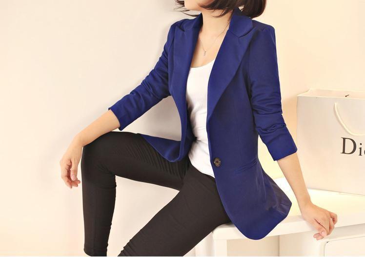 2017 new 2017 women blazers plus size fashion slim