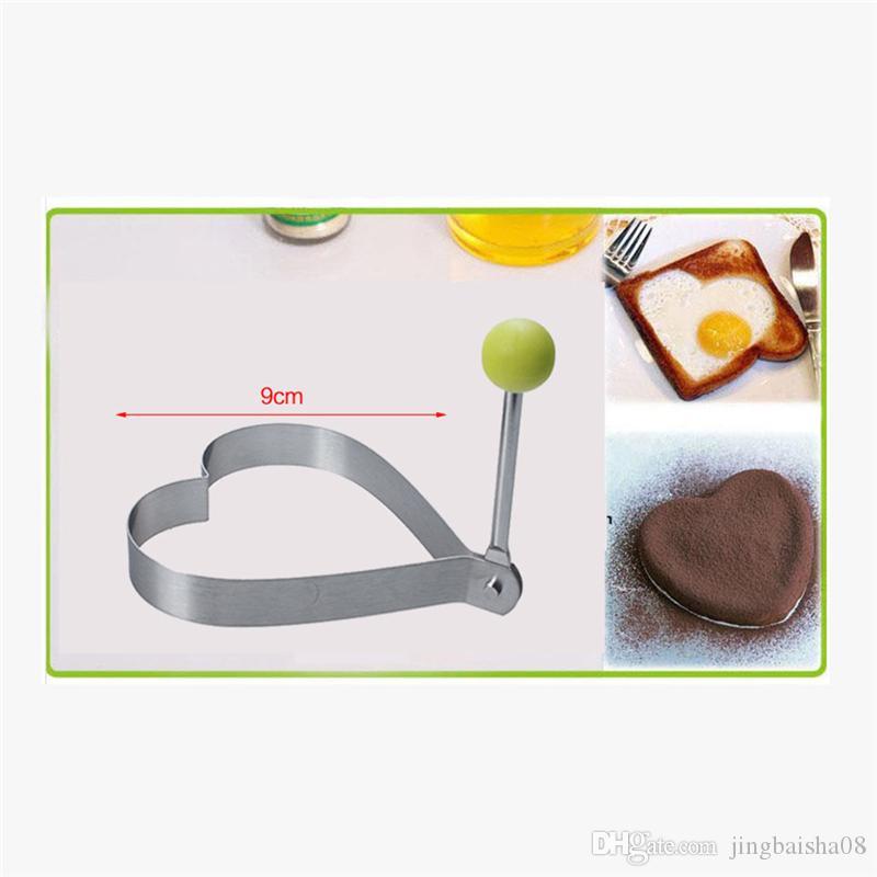 Повар жареное яйцо блин из нержавеющей стали сердце формирователь плесень Плесень кухня инструмент с высоким качеством многоцветной опционально