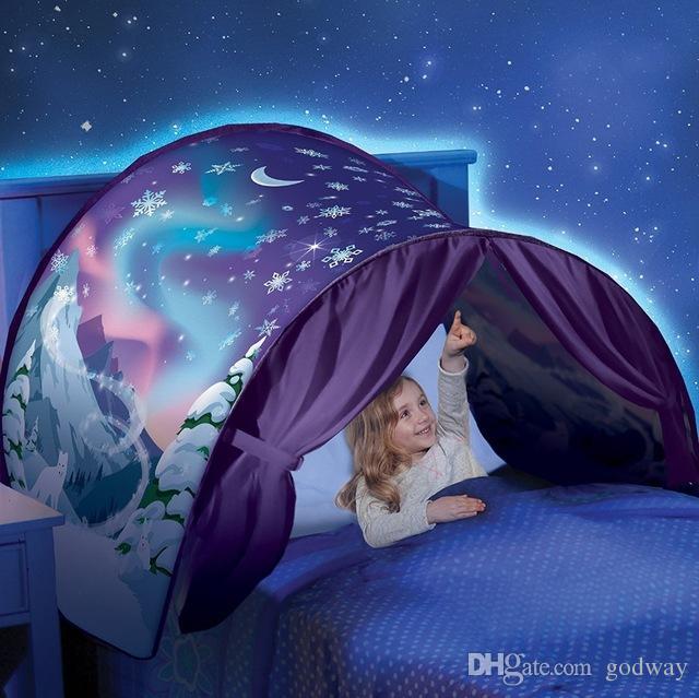 New Dream Tents Winter Wonderland Bed Tent Nylon Kids