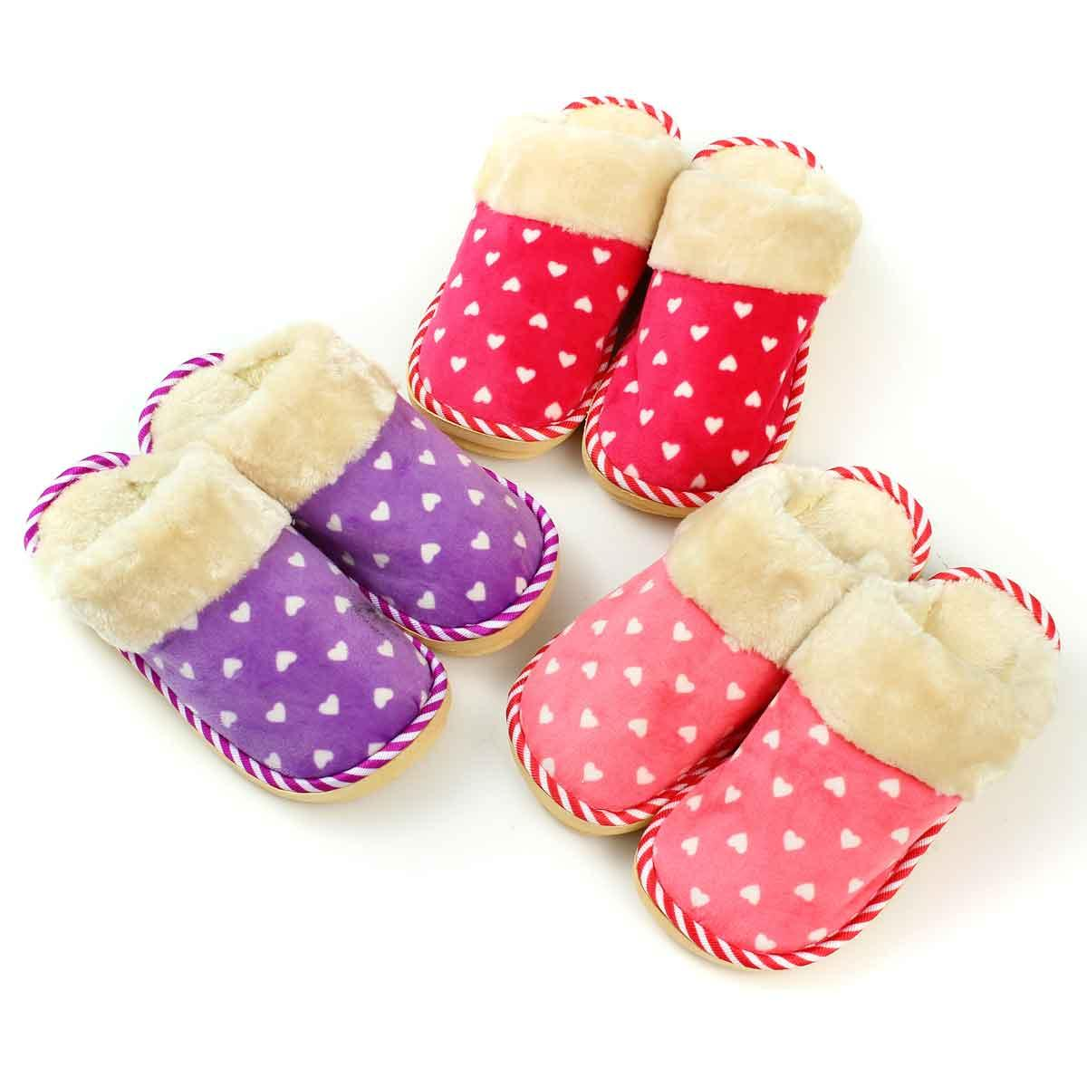 Women Cotton Slippers Woman Small Winter Slipper Home Shoes For Winter