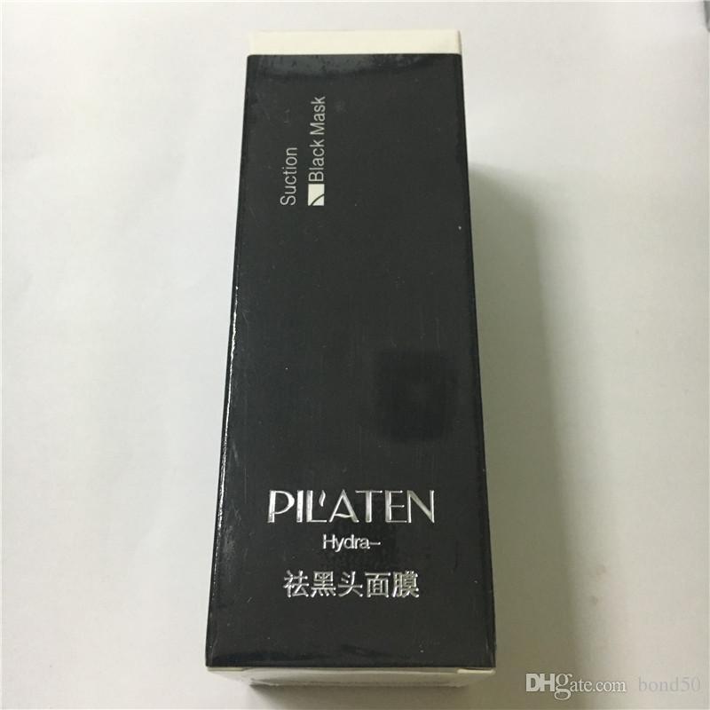 12 ADET Pilaten Yüz Maskesi Yüz Derin Bakımı Temizleme Cilt Arındırıcı Peel Akne Tedavisi Siyah Nokta Remover Çamur 60g yüz beyazlatma krem DHL