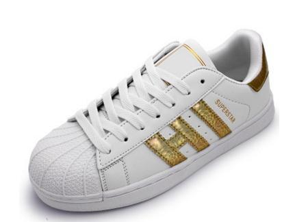 huge discount 9661c 746ef Hombres Mujeres Zapatos Placa Inferior Plana 2016 Venta Directa De Negocios  Siete Colores Superestrella Zapatos Casuales Pareja Zapatos Tamaño 36 44 A  ...