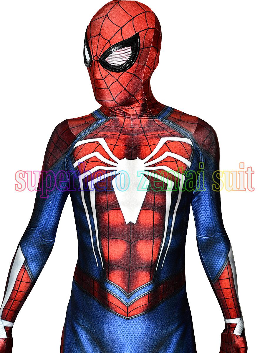 New Ps4 Insomniac Spiderman Costume 3d Print Spandex Games Spidey