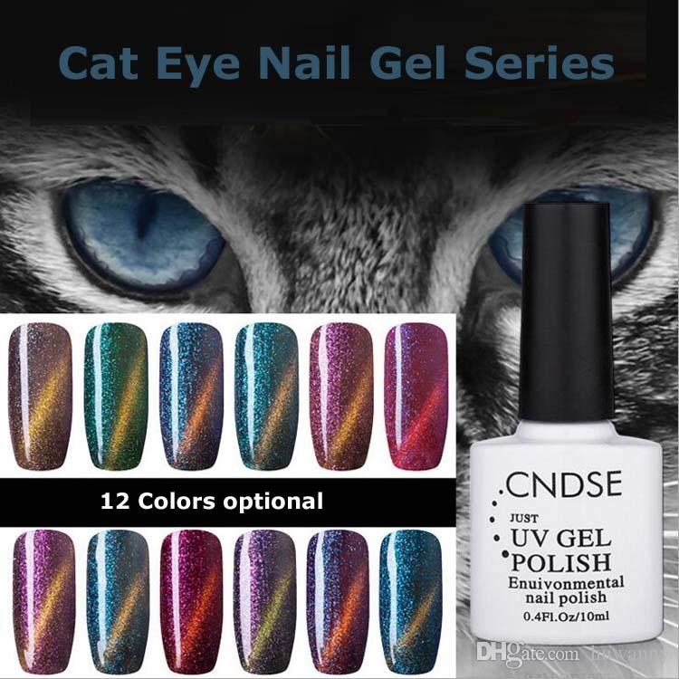 Nail Polish New Fashion 10ml Cat Eye Series Nail Uv Gel Polishe ...