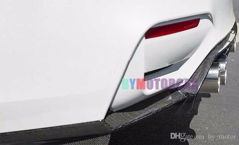 V Style Real Carbon Fiber Rear Lip Car surrounded F80 M3 F82 M4 Fit For BMW