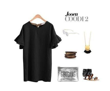 Mode de l'Europe nouvelle robe en coton de lin à manches courtes femmes s'habillent, plus la taille de l'été printemps volants noir T-shirt décontracté long tops chemisiers