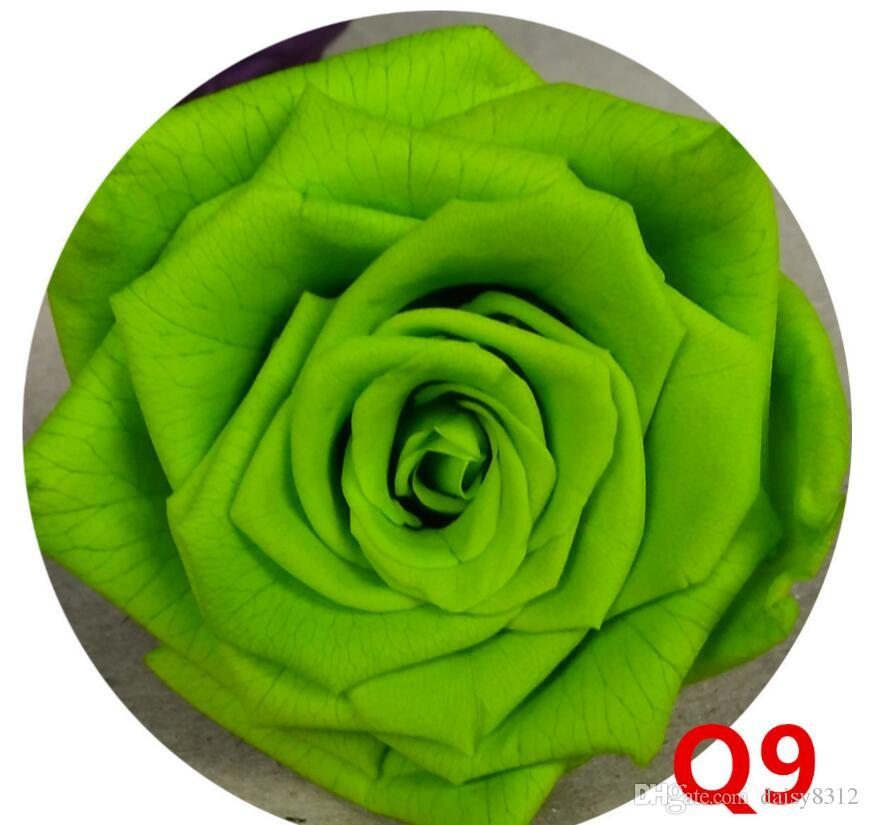 2-3cm Preserved Flower Rose Bud Head For Wedding Party Holiday Birthday Velentine's Day Gift Favor