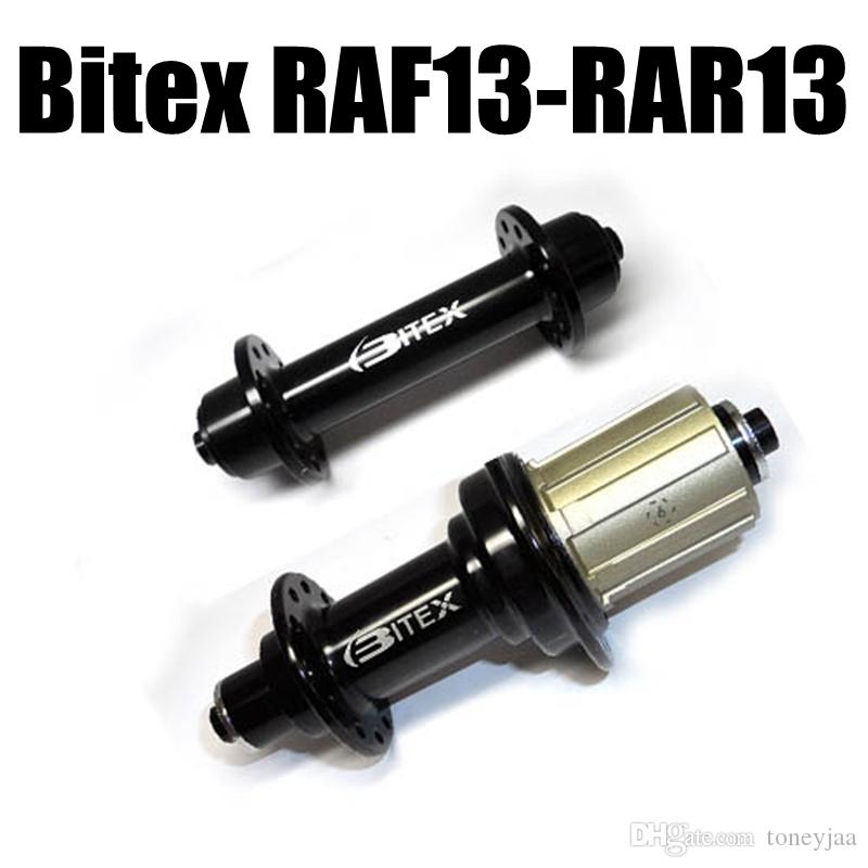 Bitex RAF13 RAR13 Hubs Black Color Sealed Bearing Road Bike Hub 300g Fit For 20/24 Spokes Wheels Super Light