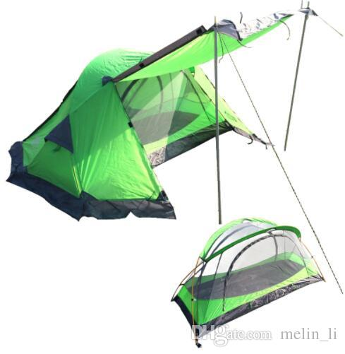 Hiking C&ing Ultralight Tent 1 Person Aluminum Double Layers Outdoor Winter Tents Single Tourist Tent Lightweight Tents Coleman Tent From Melin_li ...  sc 1 st  DHgate.com & Hiking Camping Ultralight Tent 1 Person Aluminum Double Layers ...