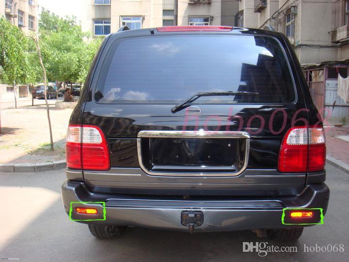 / Lexus LX470 1998-07 LED auto luce freno posteriore Fendinebbia paraurti destro e sinistro
