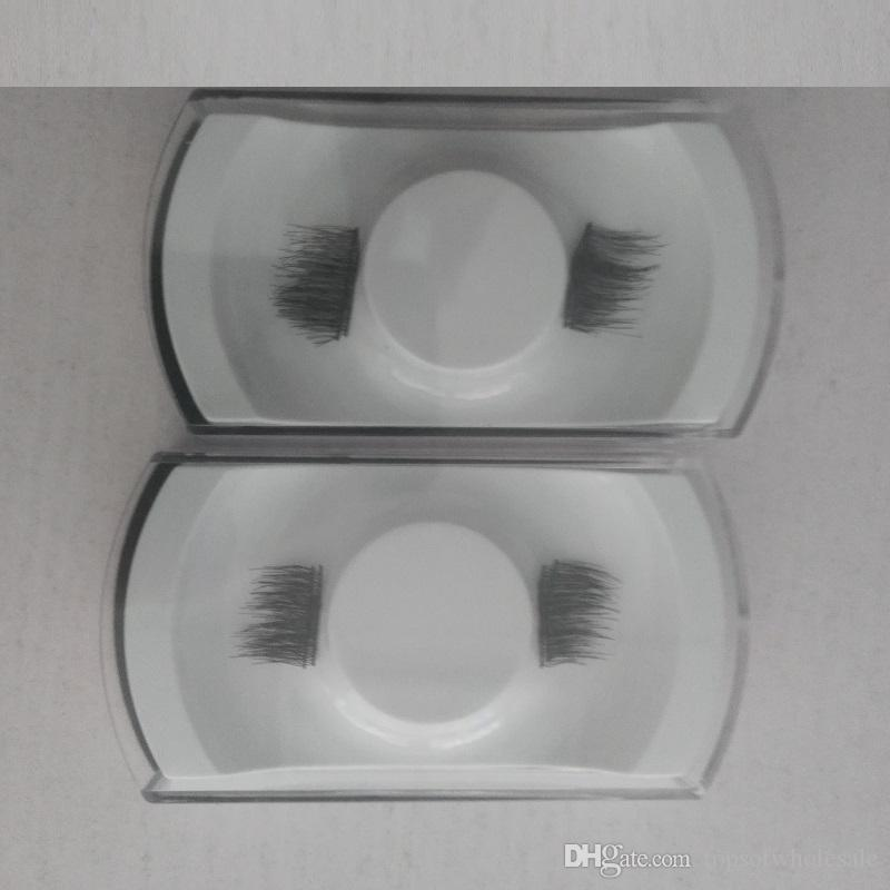 Magnetic false eyelash / 3D Magnetic False Eyelashes Natural Soft Makeup Beauty Tools Accessories