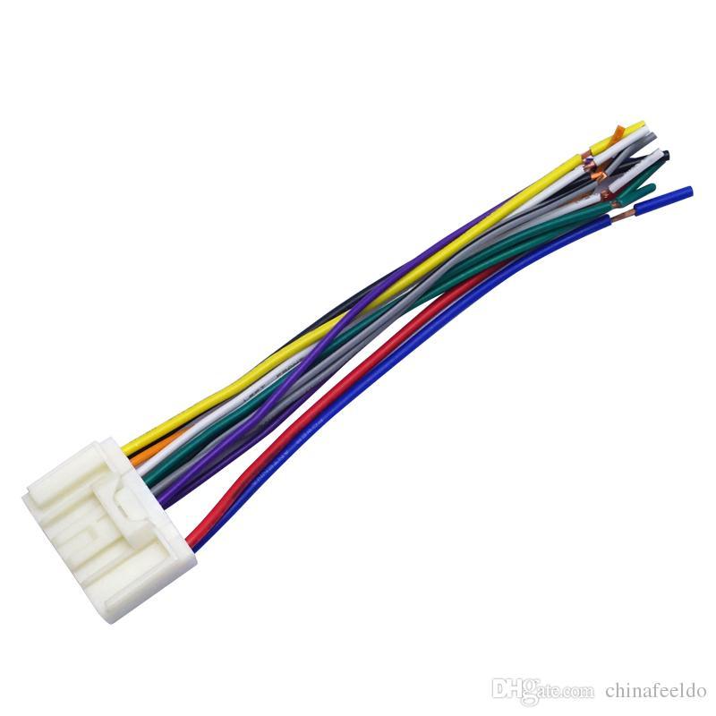 Pleasant 2019 Leewa Car Radio Audio Cd Power Harness Cable Adapter For Wiring Database Indigelartorg