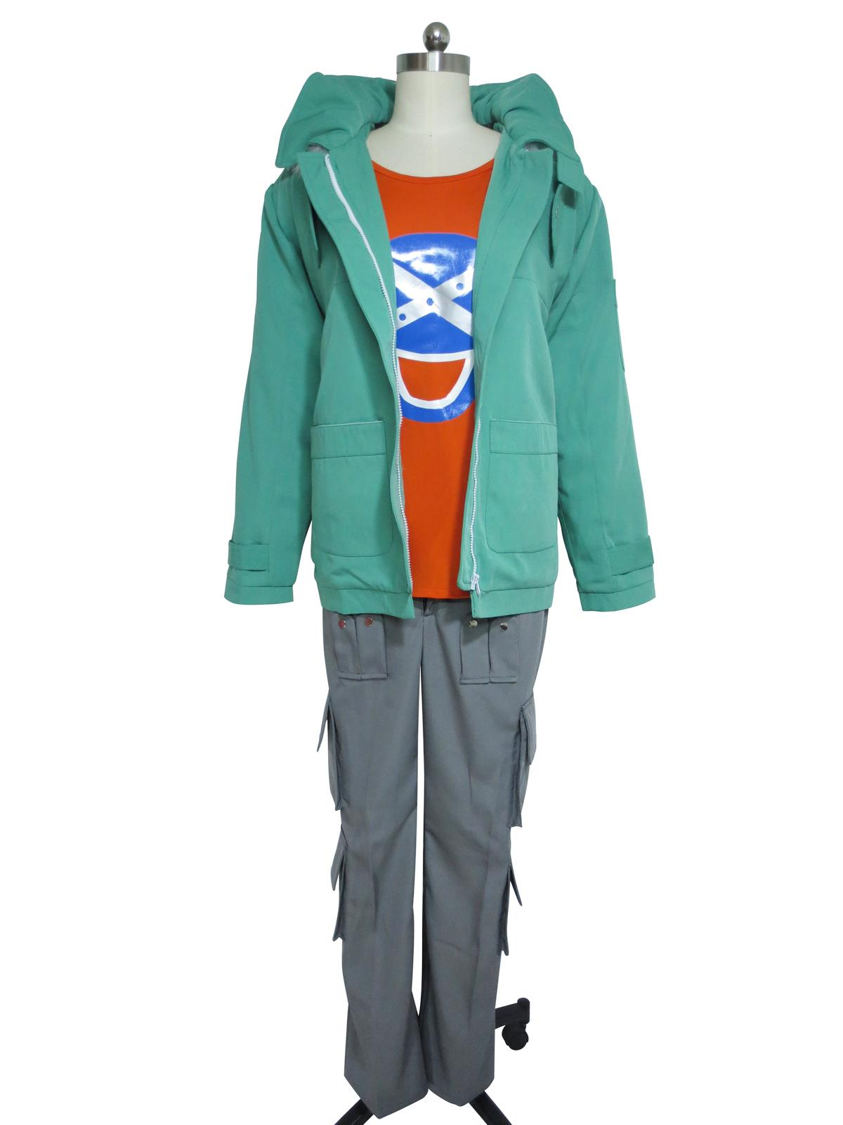 Fairy Tail Cosplay Loke Loki Jacke Kostüm Mantel gepolstert