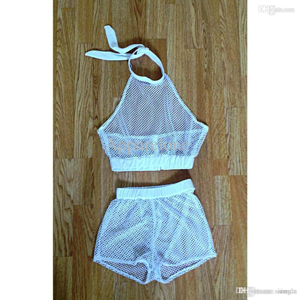 Wholesale Fashion Summer Trends Black And White Shorts See Through ...