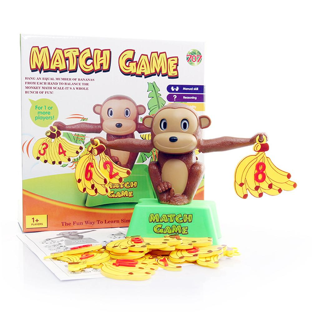 Wholesale- Maths Game Toys Monkey Banana Balance Scales Toy Numbers ...