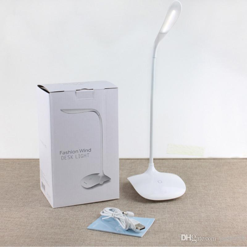 Eye care study gift lamp folding creative touch the light desk small night lamp bedroom led lamp