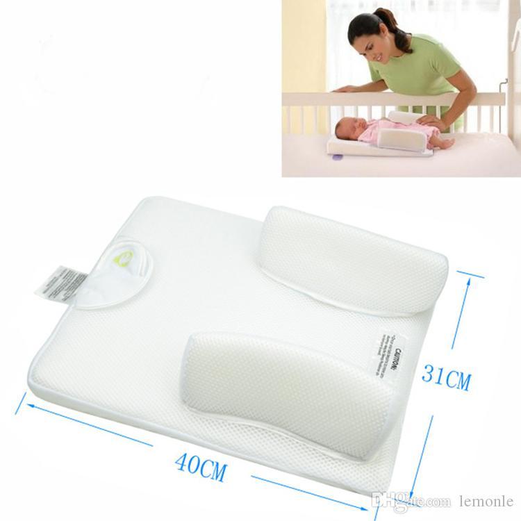 0-6months Newborn Sleep Positioner Baby Anti Rollover Pillow Sleeping Nursing Pillow Vent