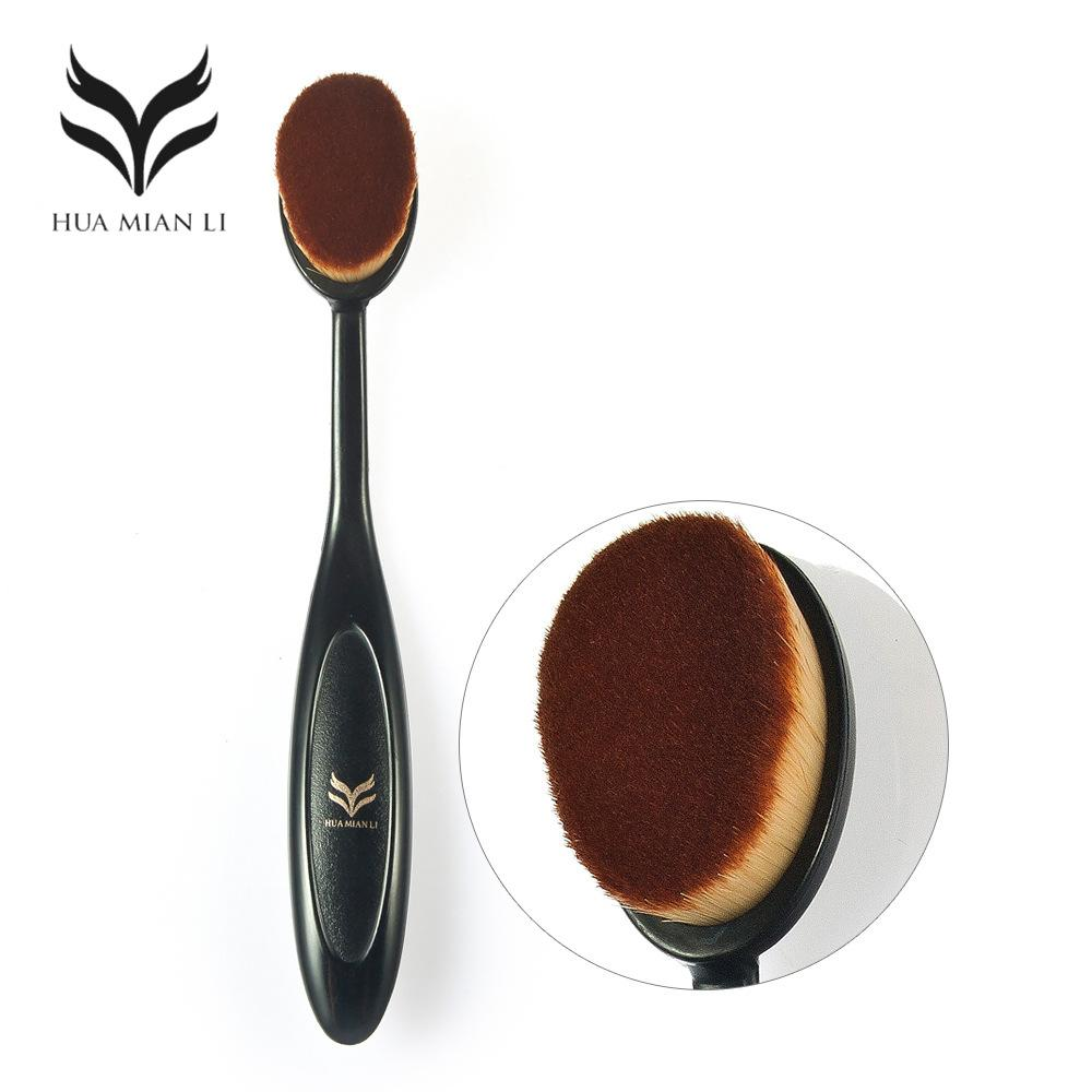 Huamianli Brand Oval Foundation Make Up Brushes Toothbrush Makeup ...