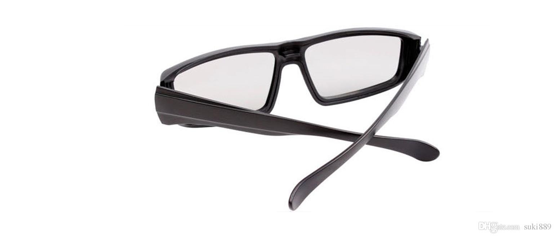 Preto amarelo e vermelho óculos polarizados 3d óculos polarizados 3d óculos usados para 3d cinemas.3d filmes 3d tvs 3d filmes