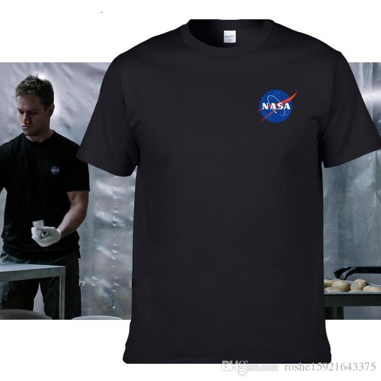 NASA T Shirts Men WOMEN The Martian Matt Damon T Shirt For ...