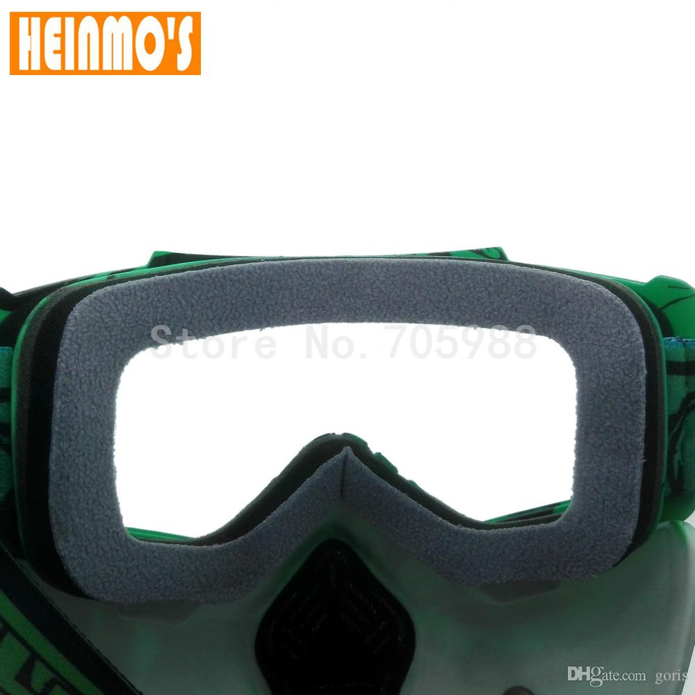 Hot sales motorcycle goggles Detachable goggles Filtration of breathing holes dust wind mask