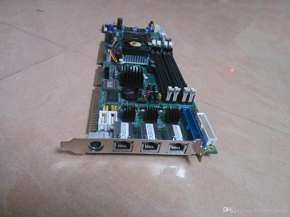 FS-979 full-length Industrial Motherboard dual Ethernet ports 945 IPC board 100% tested working,used in good condition