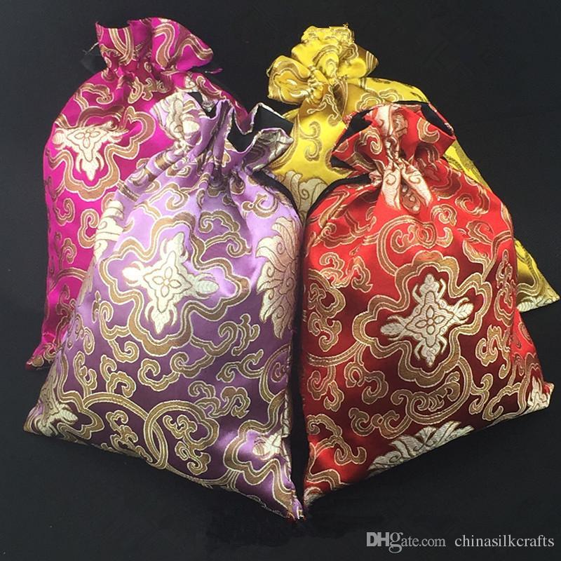 Großhandel Luxus Extra Große Weihnachtsgeschenk Taschen Für ...