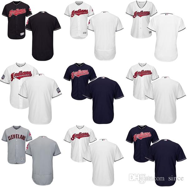 5d036a898 ... 2017 Customized Cleveland Indians MenS KidS WomenS Baseball Personalized  All Stitched Adult Youth Any NameNo.