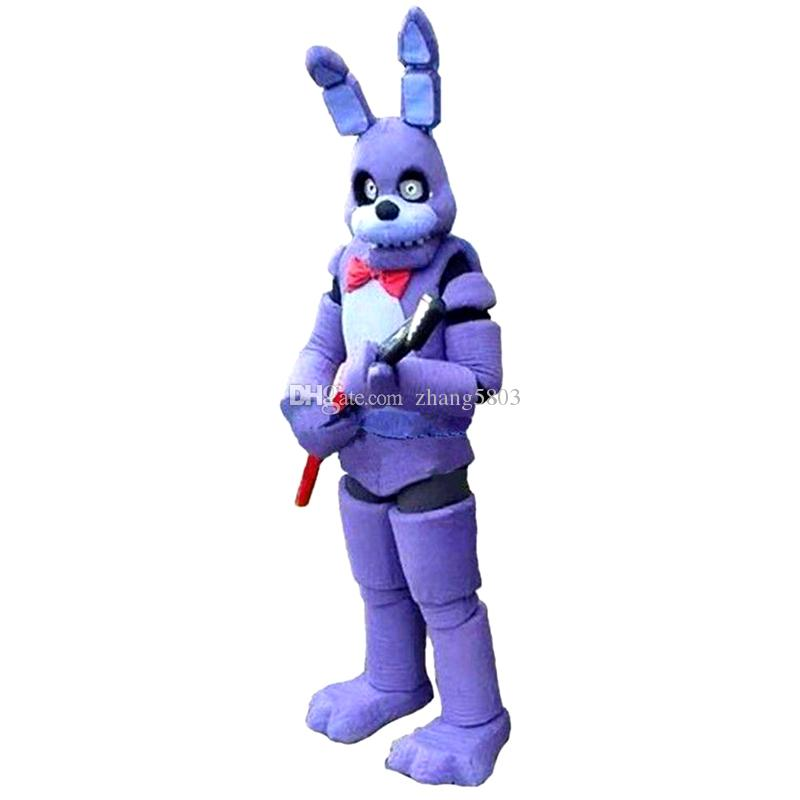 Five Nights at Freddyu0027s FNAF Toy Creepy Purple Bunny Mascot Cartoon Christmas Clothing High-quality Adult Size Real Picture 01 Mascot Cartoon Costume Online ...  sc 1 st  DHgate.com & Five Nights at Freddyu0027s FNAF Toy Creepy Purple Bunny Mascot Cartoon ...