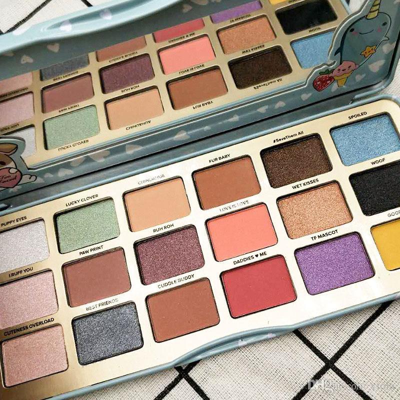 Hot sale Clover A Girl Best Friend YAAASS Eyeshadow makeup Collection Palette by dhl