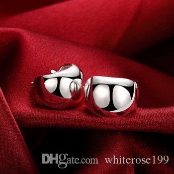 Großverkauf - niedrigster Preis Weihnachtsgeschenk 925 Sterlingsilber-Art- und Weiseohrringe E116